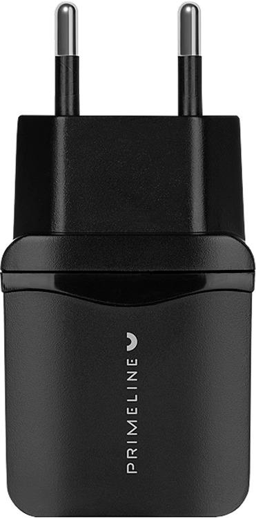 Сетевое зарядное устройство Prime Line Quick Charge 3.0, 2320, черный сетевое зарядное устройство prime line 2310 usb 2 1a черный