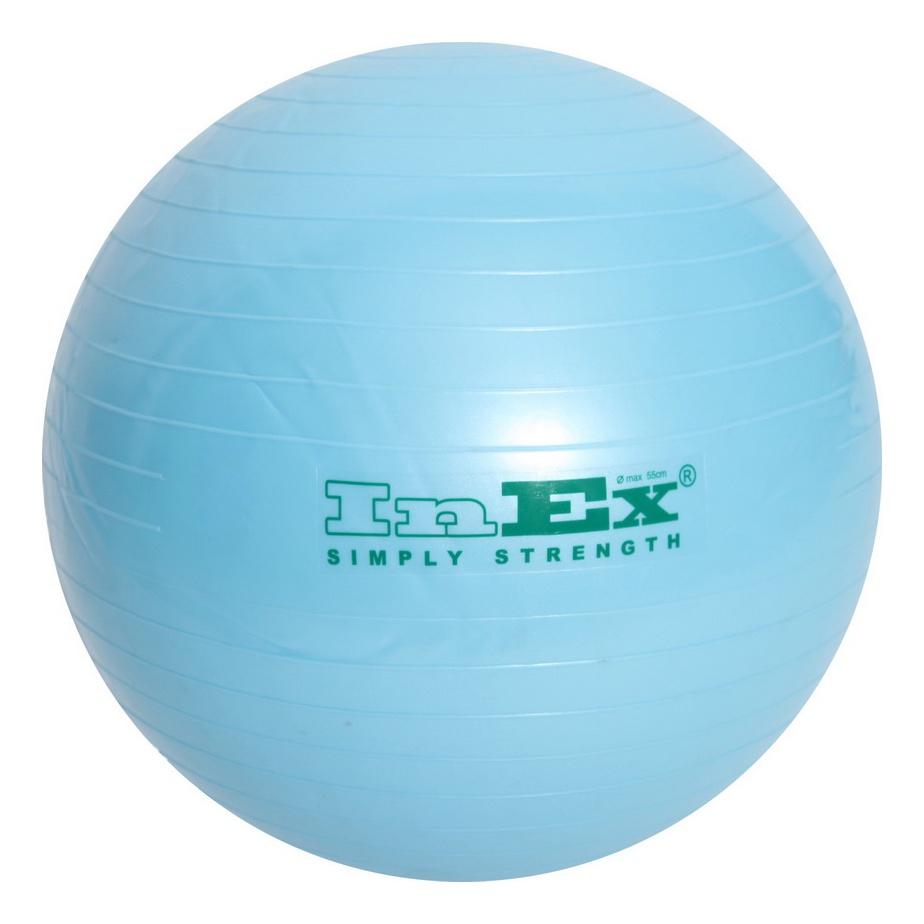 Мяч для фитнеса Inex IN/BU-22 55 см мяч гимнастический z sports hopping ball 55 см