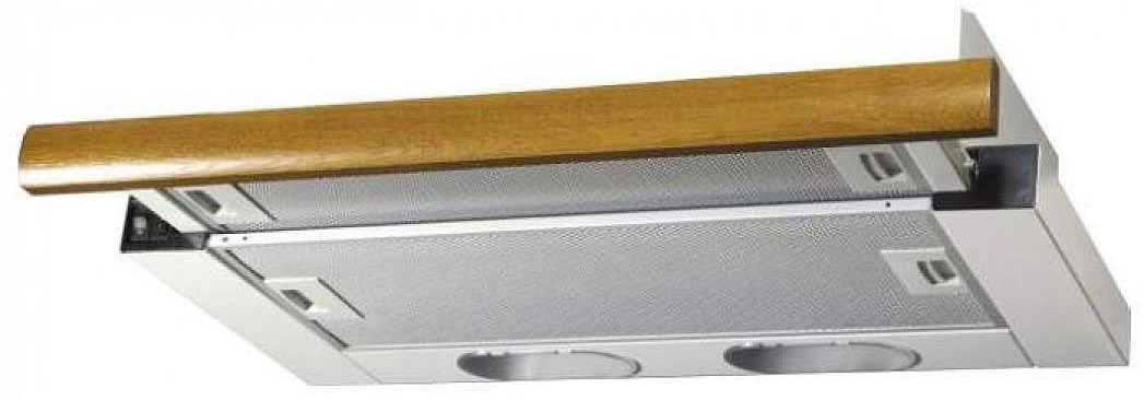 Фото - Встраиваемая вытяжка Elikor Интегра 50П-400-В2Л, белый встраиваемая вытяжка elikor интегра 50н 400 в2л белый дуб венге