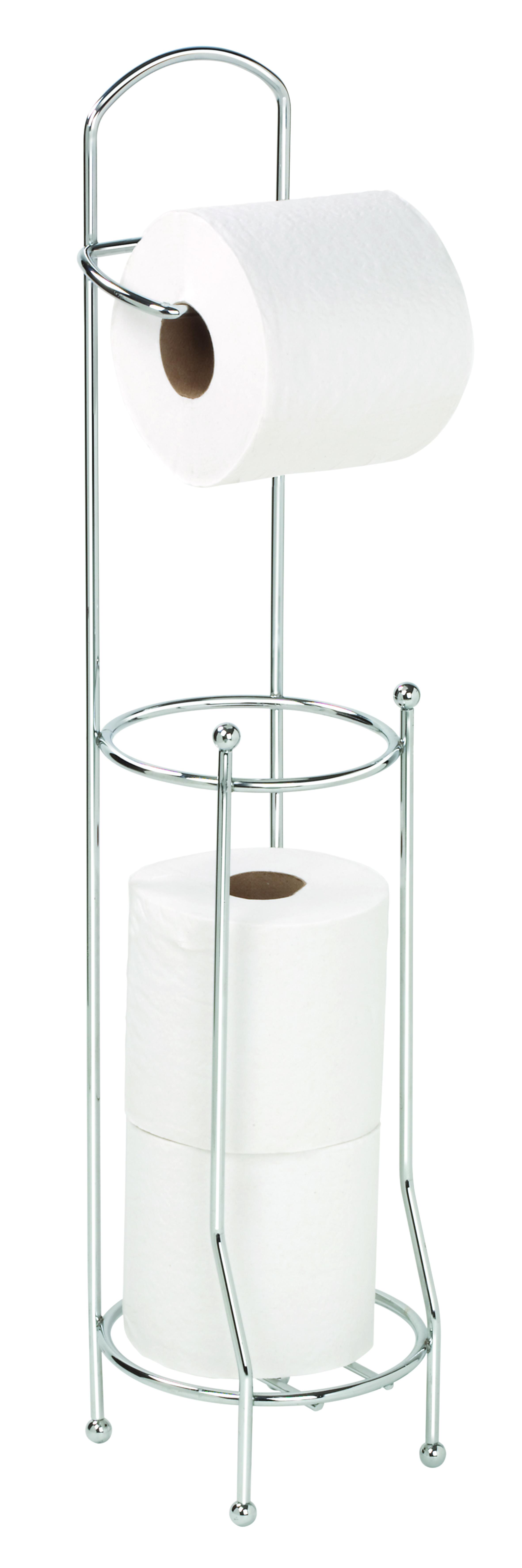 цены Держатель для туалетной бумаги Vanstore 901-55, серебристый