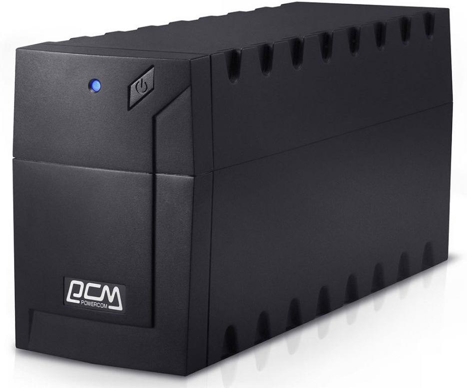 ИБП Powercom RPT-800AP Raptor 800VA/480W AVR,USB (3 IEC) ибп powercom rpt 1000ap raptor 1000va 600w avr usb 3 iec