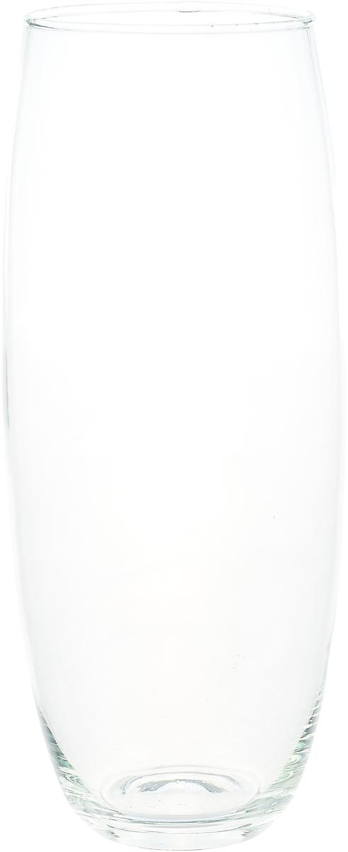 "Ваза Evis ""Фестиво"", 782159, прозрачный, 12,7 х 12,7 х 30 см"