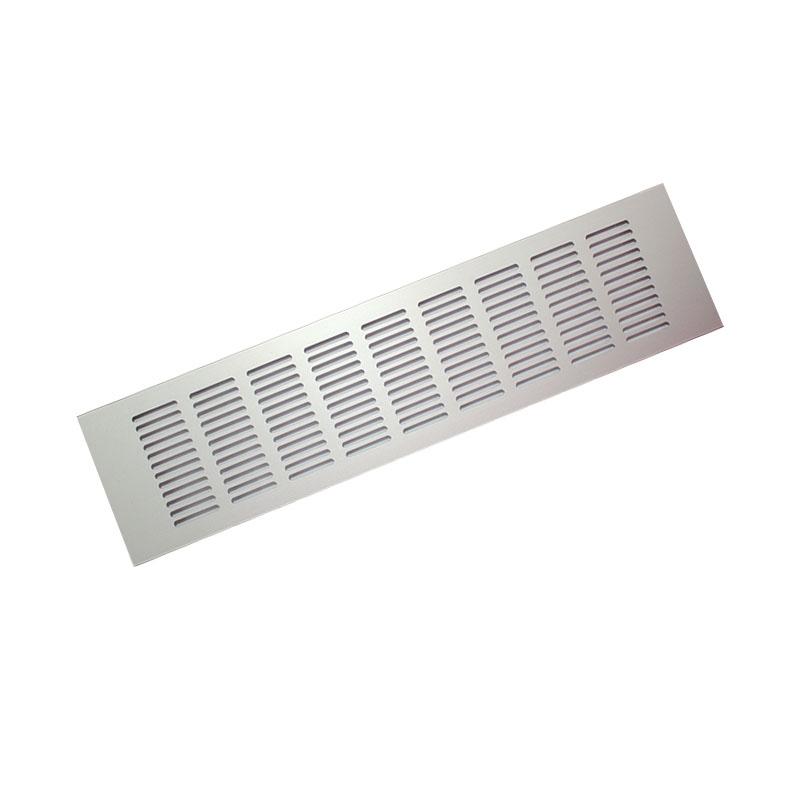 все цены на Вентиляционная решетка Europlast RA 1250S, серебристый онлайн