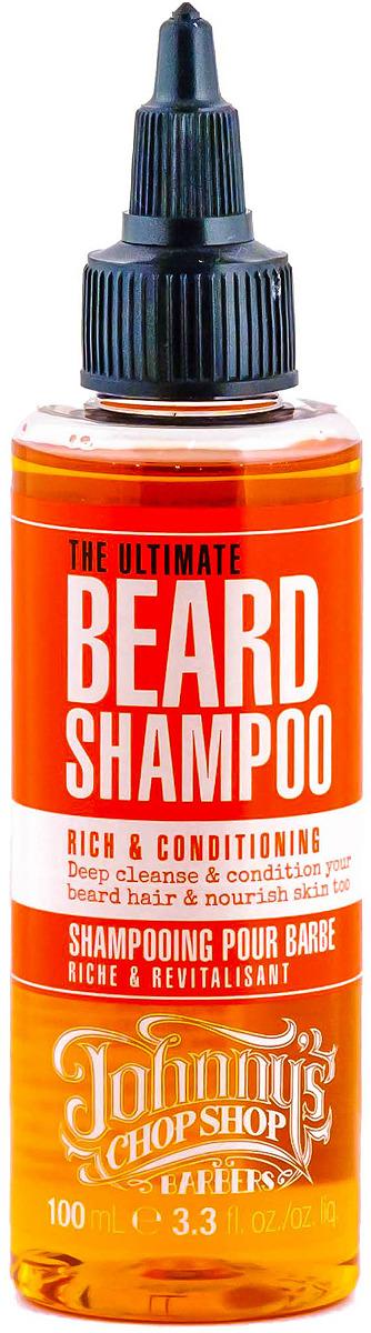 Шампунь для бороды Johnny`s Chop Shop, 100 мл johnny s chop shop beard oil масло для ухода за бородой 30 мл