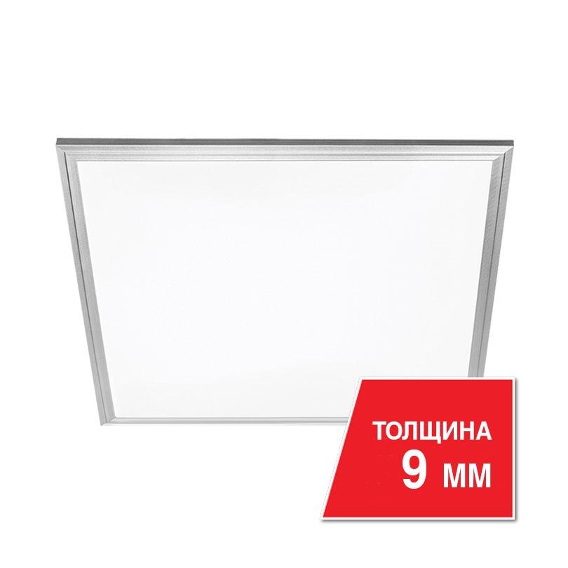 Светодиодная панель WOLTA LPC40W60, серый металлик цена