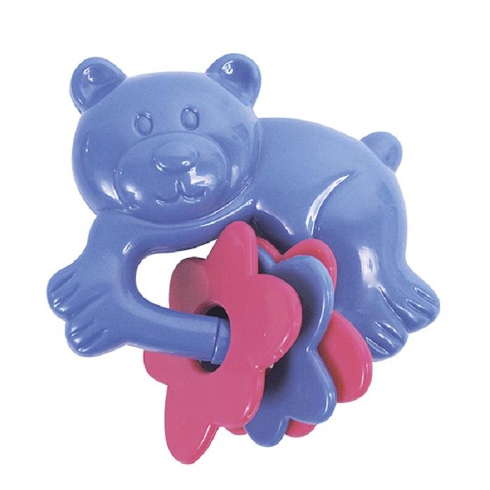 цена Погремушка ПОМА Мишка-топтыжка синий онлайн в 2017 году