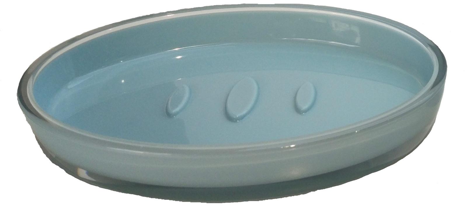 Мыльница Vanstore 316-04, голубой мыльница vanstore корона