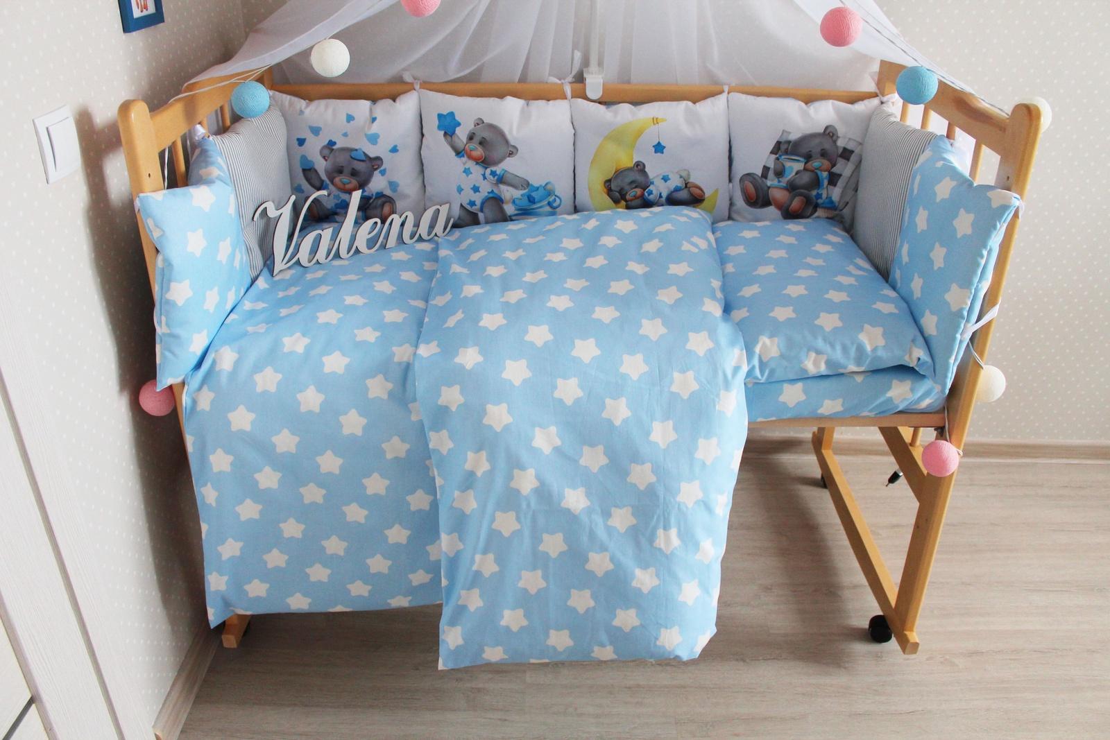 Фото - Бортики и постельный комплект в кроватку Valena Мишки Тедди бортики в кроватку лапуляндия бортики домики для мальчика 120х60