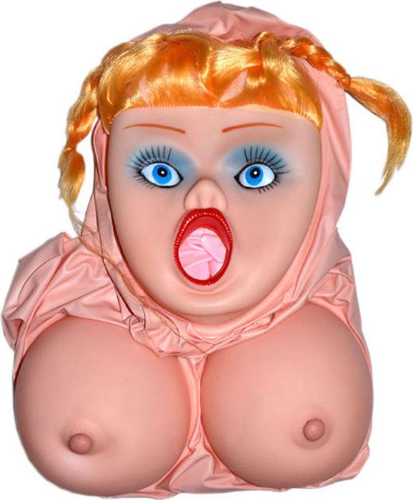 в рот резиновую куклу - 1