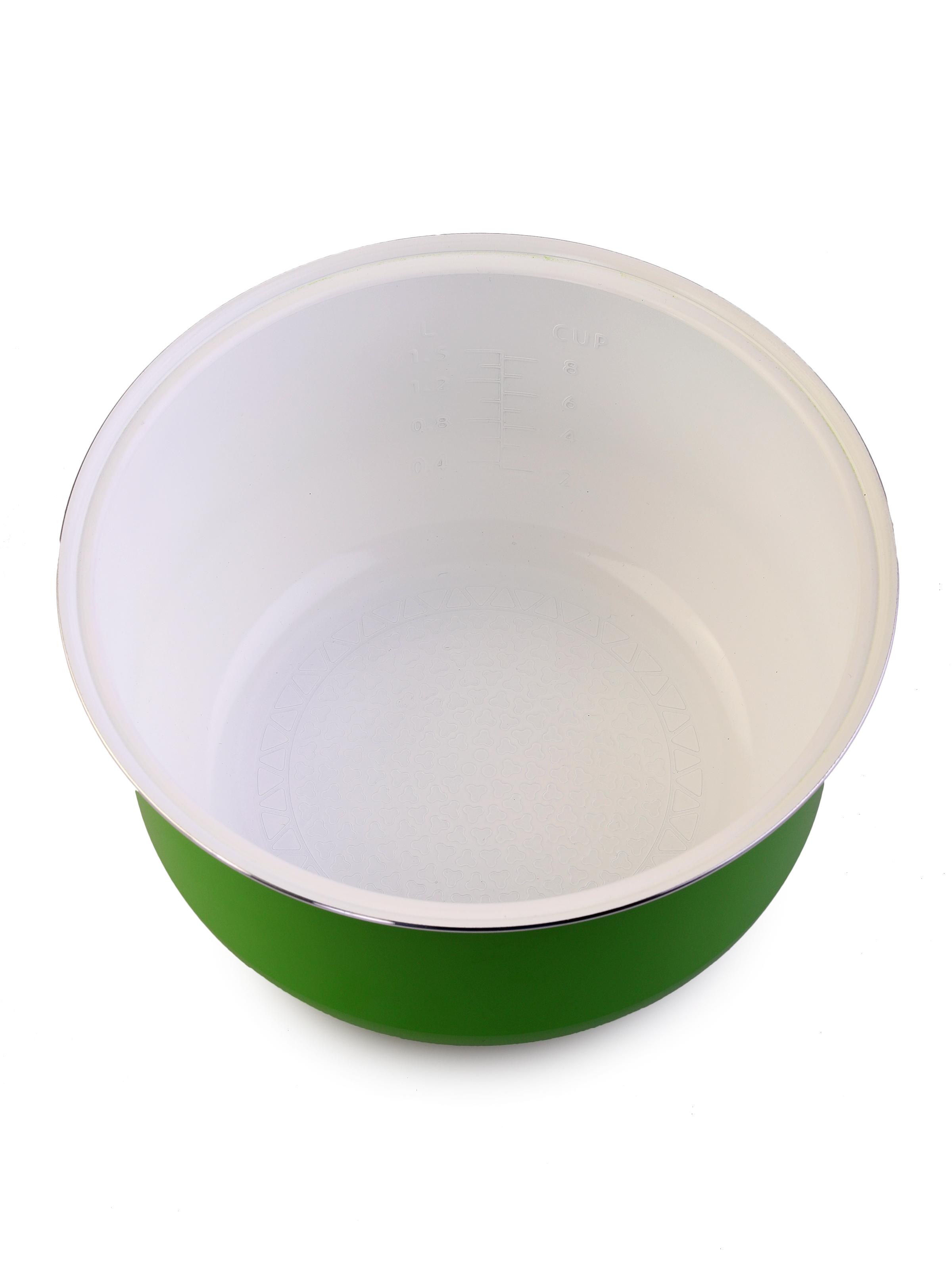 Чаша для мультиварки MARUCHI RW-FZ47-к, зеленый, белый MARUCHI