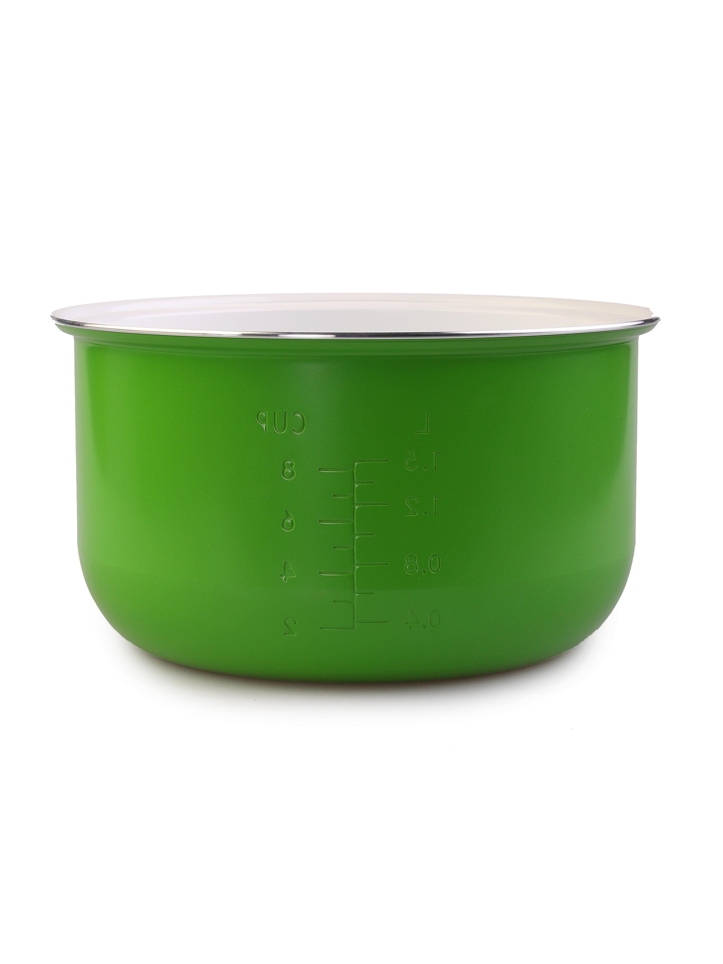 лучшая цена Чаша для мультиварки MARUCHI RW-FZ47-к, зеленый, белый