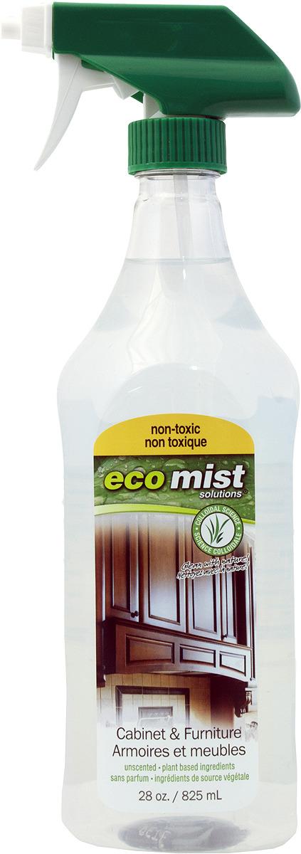 Средство для чистки мебели и уборки в кабинете Eco Mist, 825 мл средство для удаления жира eco mist 825 мл