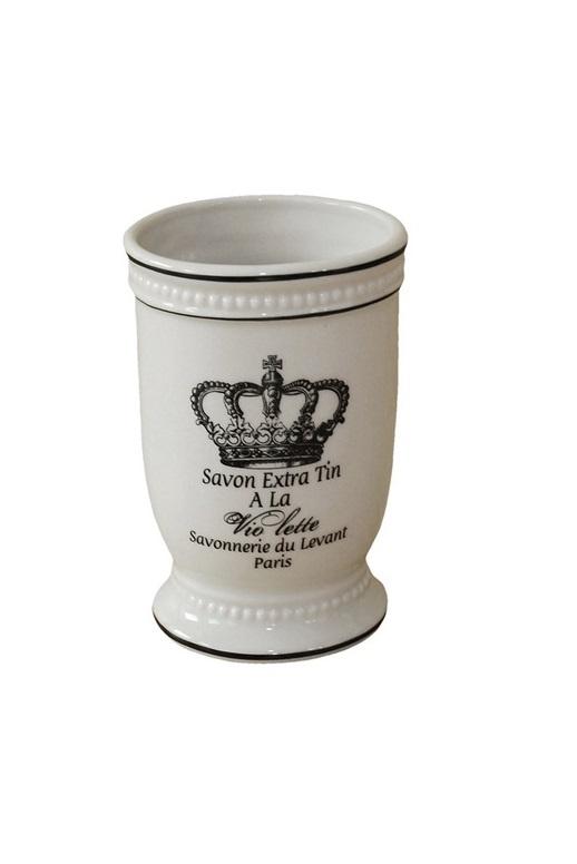 Стакан для ванной комнаты Vanstore 302-01, кремовый стакан для ванной комнаты vanstore wiki бирюзовый
