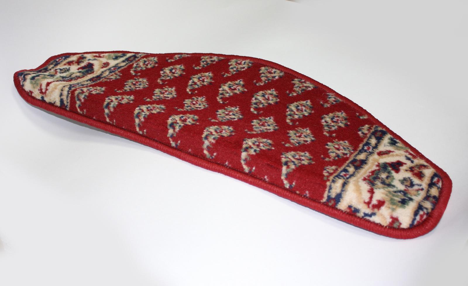 Защитный коврик Велий Верона Мир 7616, бордовый защитный коврик велий хеопс 22 зеленый