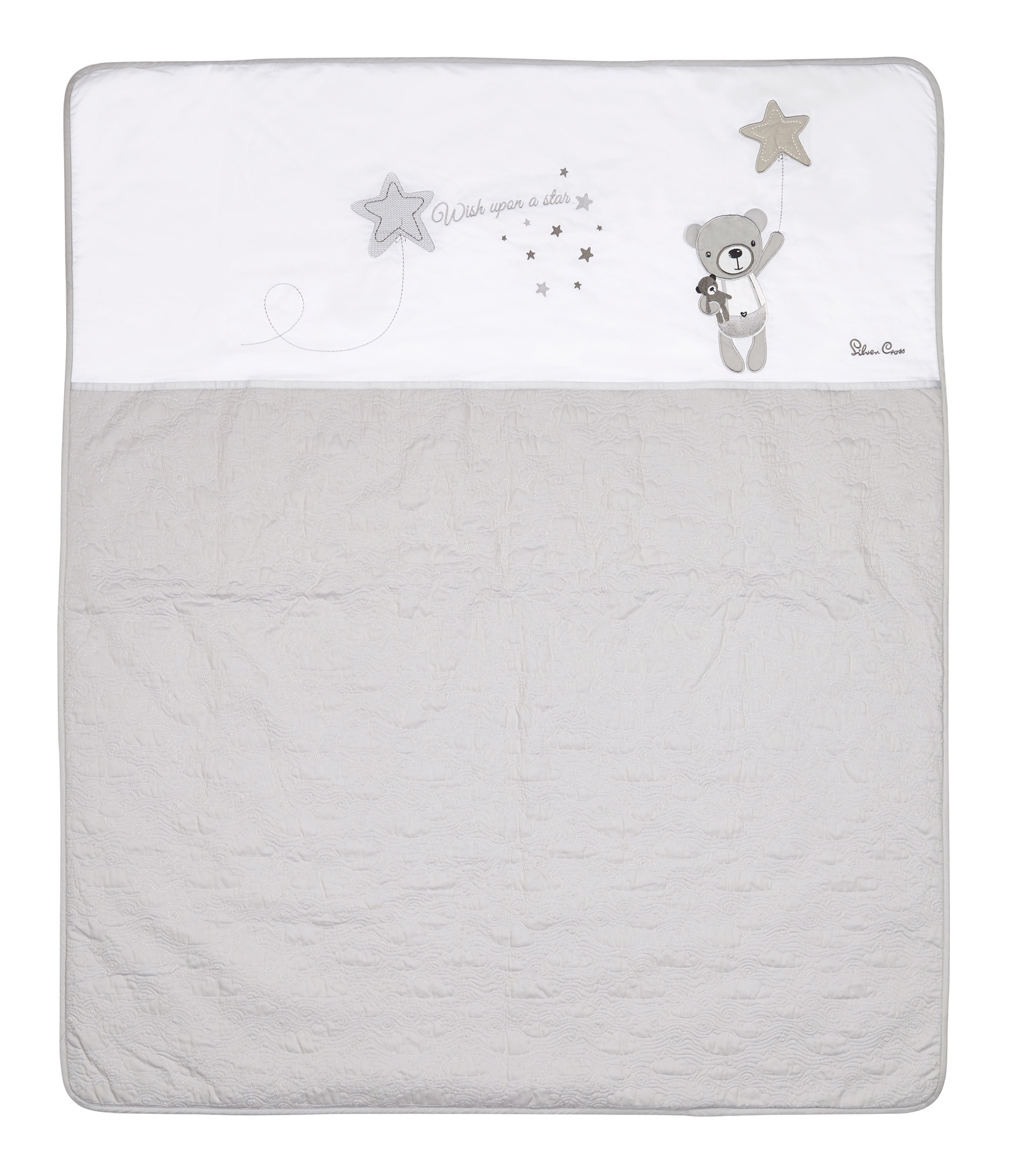 Детское покрывало Silver Cross Wish Upon a Star, серый trisha ashley wish upon a star