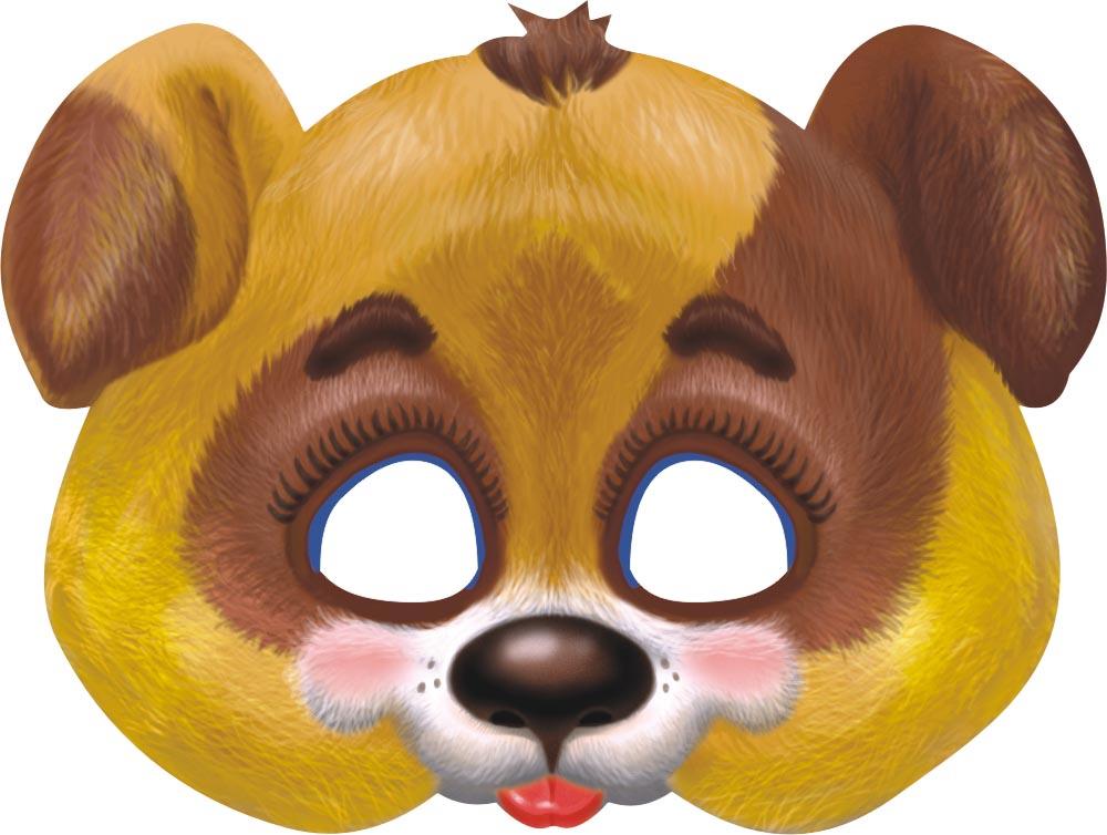 Картинки масок животных на лицо