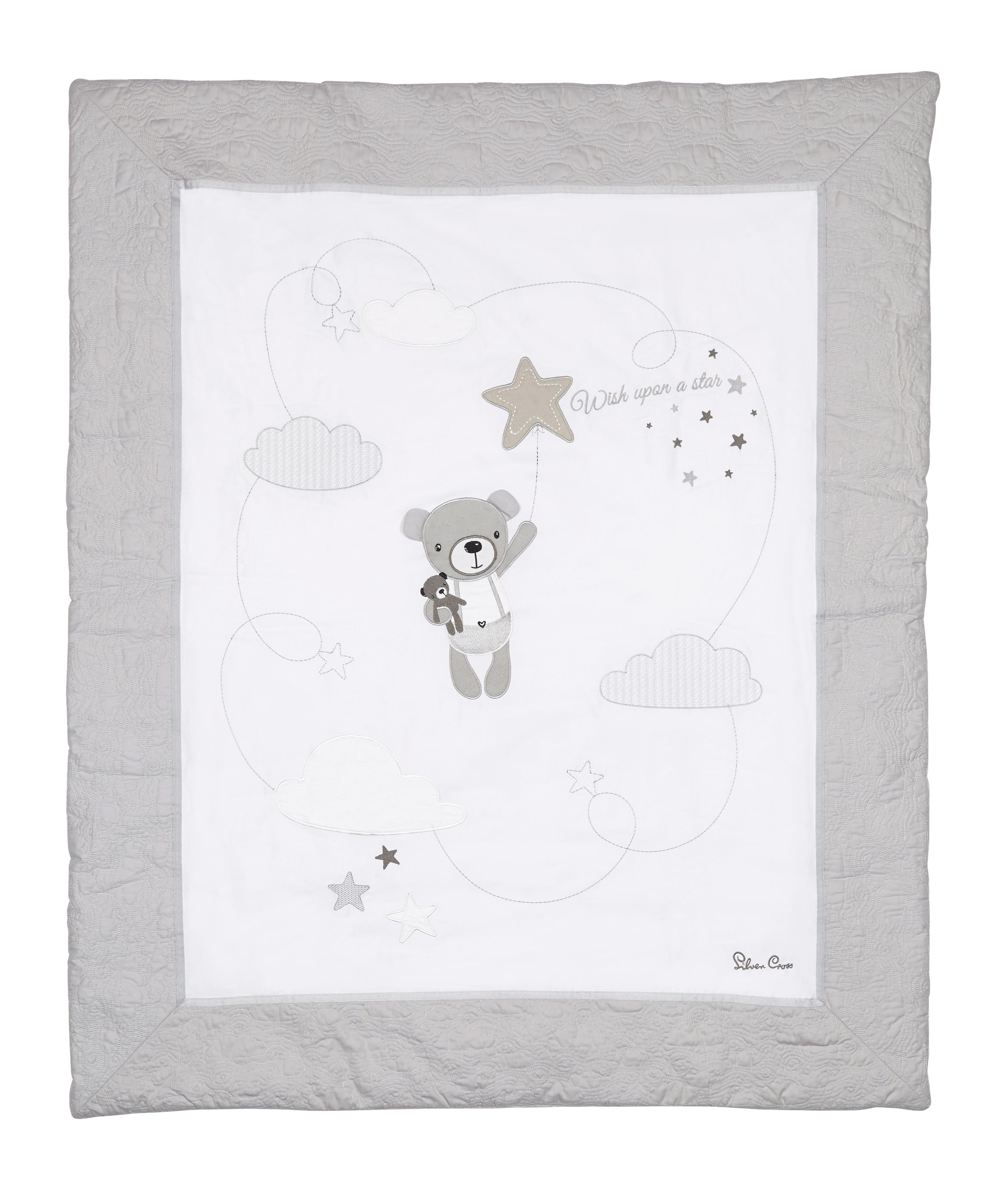 Детское покрывало Silver Cross Wish Upon a Star, белый trisha ashley wish upon a star