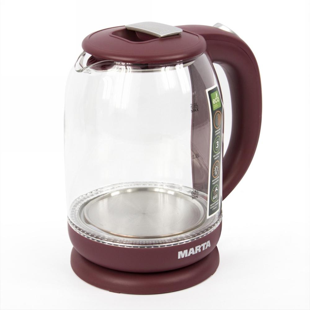 Электрический чайник MARTA MT-1096 электрический чайник marta mt 1083 dark topaz