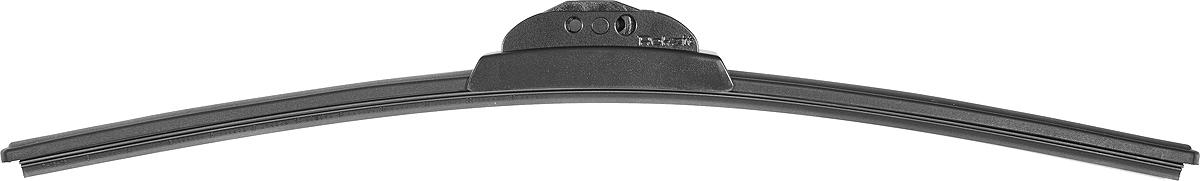 Бескаркасная щетка стеклоочистителя Rekzit Extra Clean, 918 65, черный, 26/65 см адаптеры для щеток стеклоочистителя rekzit ft 2 шт
