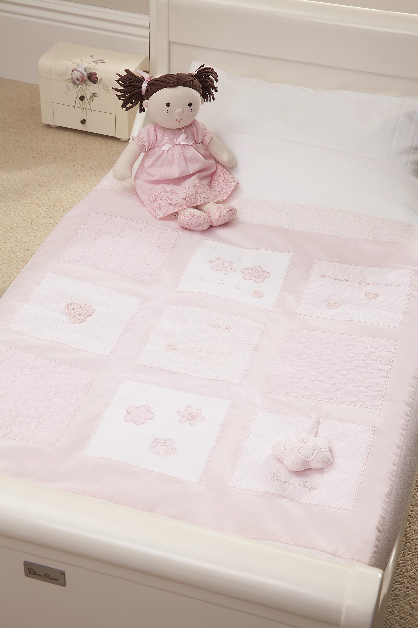 Детское покрывало Silver Cross VINTAGE PINK, розовый