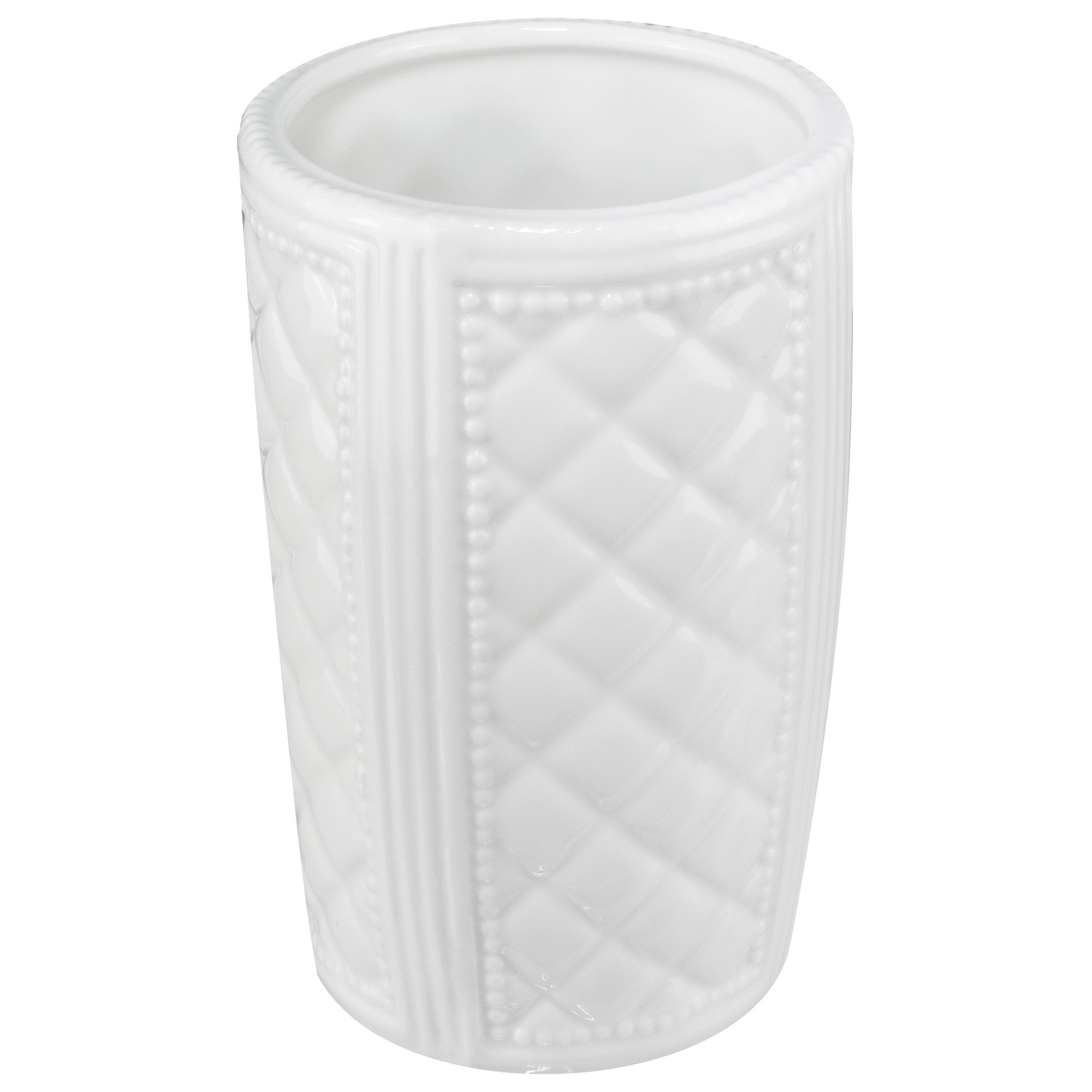 Стакан для ванной комнаты Vanstore 388-01, белый стакан для ванной комнаты vanstore wiki бирюзовый