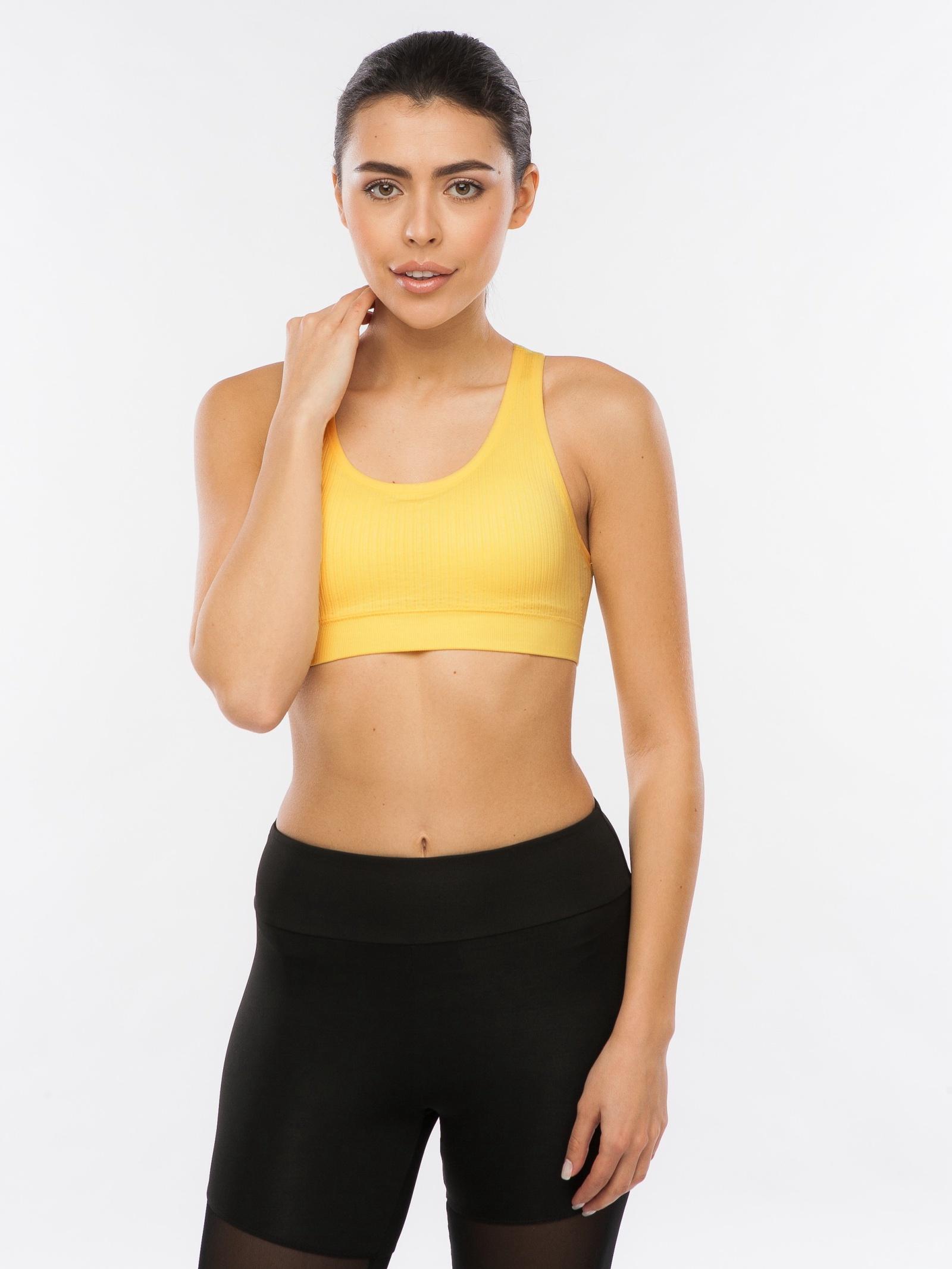 Топ Pro-fit женский бюстгальтер топ для фитнеса comfort