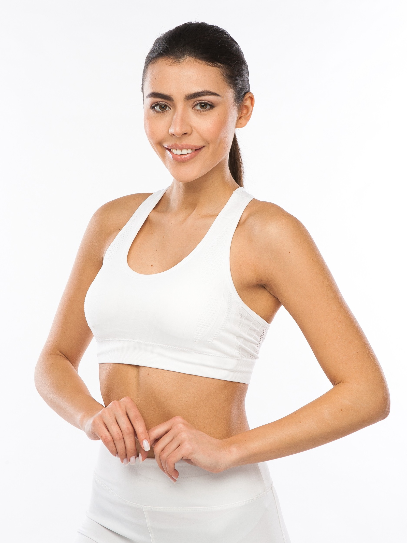 Топ Pro-fit lac впитывающий пот спортивный напульсник для фитнеса бега