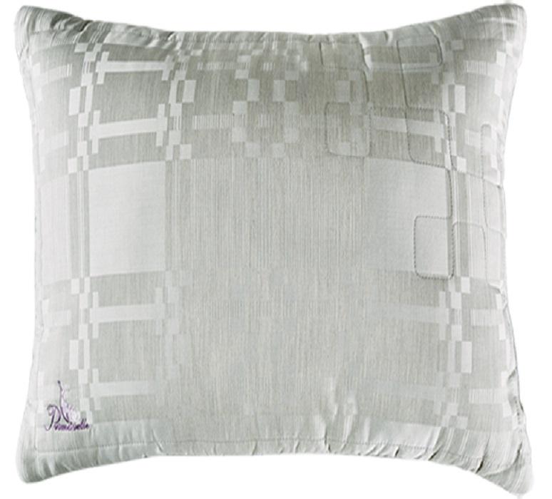 Подушка Primavelle Lino 70х70, светло-серый подушки primavelle подушка подушка цвет белый 70х70