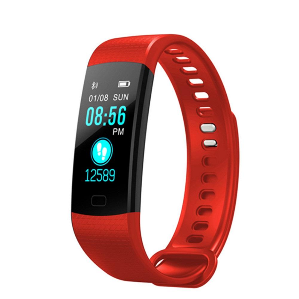 Фитнес-браслет ZDK Y5, красный умный фитнес браслет zdk f3 3393 черно красный page 3 page 3