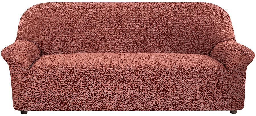 Чехол на 3-местный диван Еврочехол Микрофибра, 3/150-3, шоколадный, ширина 240 см диван keith 240 slate