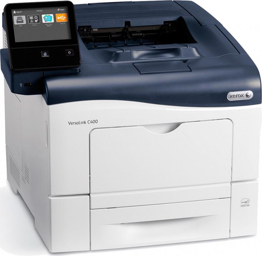 Принтер лазерный Xerox VersaLink С400DN, черный, белый