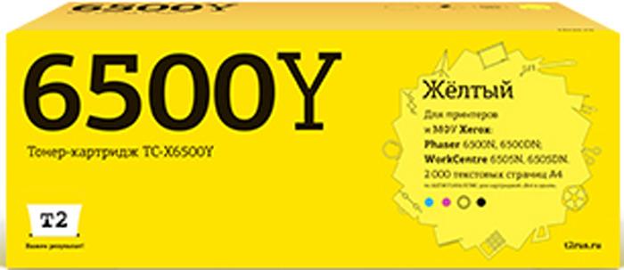 Картридж T2 TC-X6500Y, желтый, для лазерного принтера