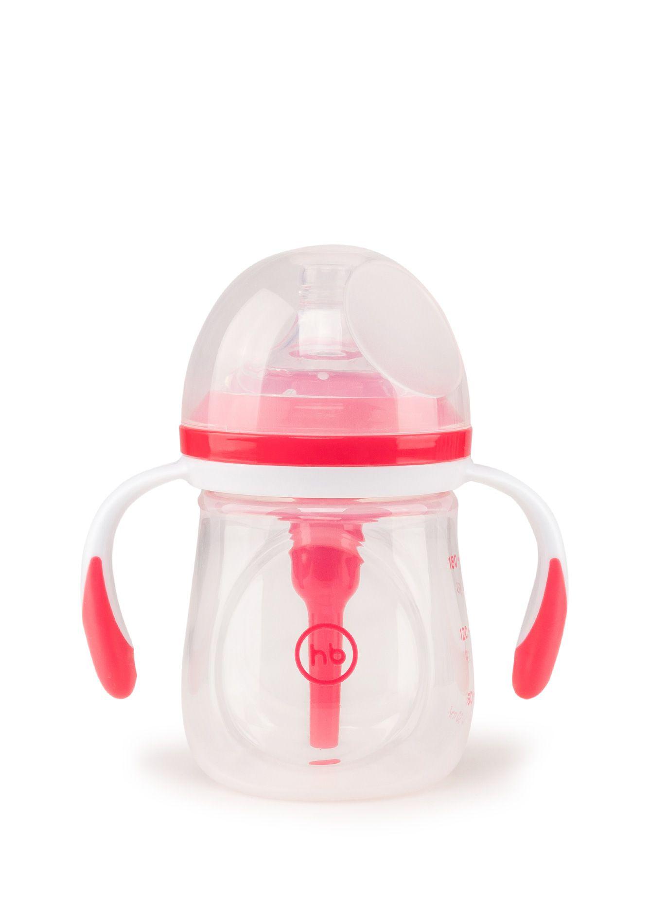Бутылочка для кормления Happy Baby 10019 ruby красный