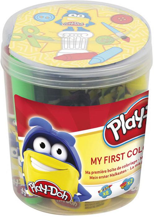 Набор для рисования Play-Doh Первая раскраска, CPDO009 набор для рисования play doh необычное яйцо cpdo062