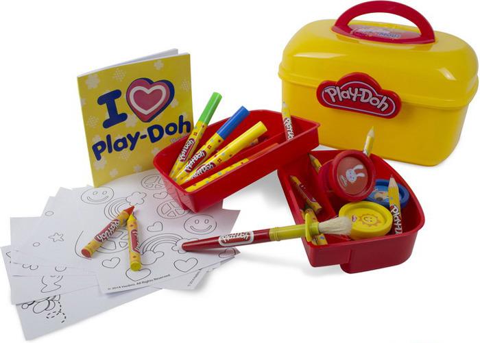 Набор для рисования Play-Doh Сундучок художника, CPDO013-PE набор для рисования play doh необычное яйцо cpdo062