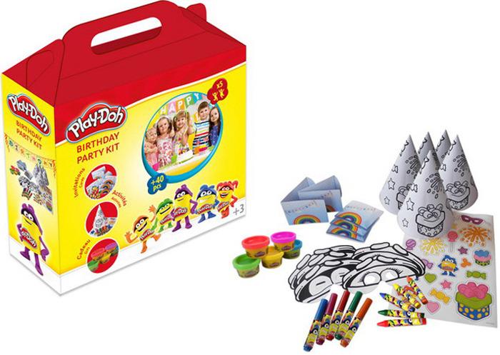 Набор для рисования Play-Doh Вечеринка, CPDO093 набор для рисования play doh необычное яйцо cpdo062