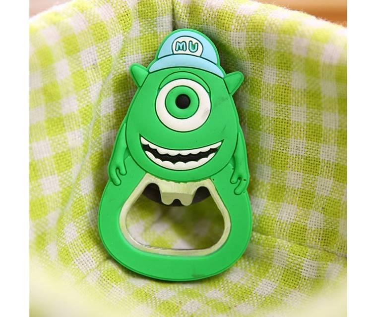 Открывалка MARKETHOT с магнитом для холодильника, зеленый комплектующие markethot z01529 z01529