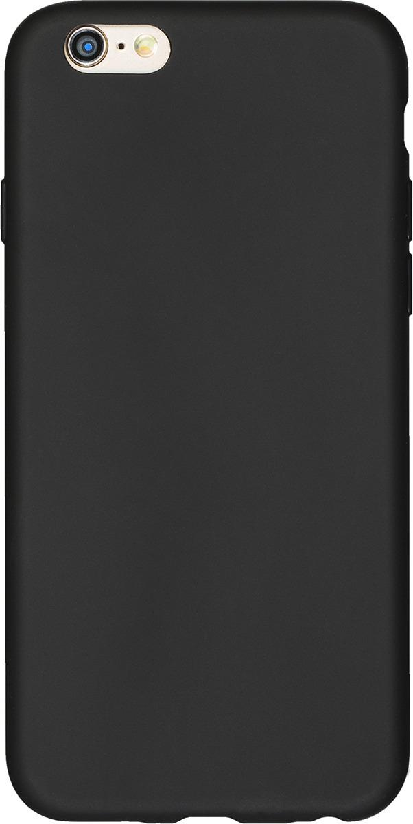 Чехол AnyCase для Apple iPhone 6/6S, матовый, черный чехол anycase art case для apple iphone 6 6s football 1