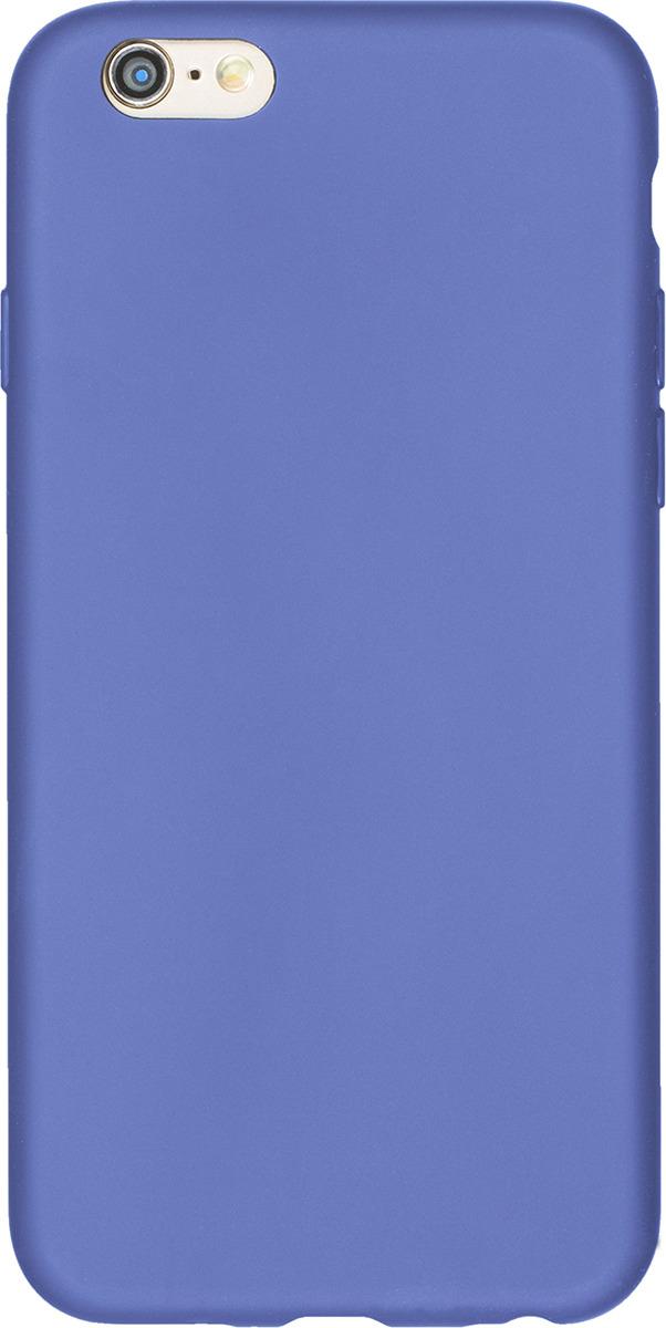 Чехол AnyCase для Apple iPhone 6/6S, матовый, синий чехол anycase art case для apple iphone 6 6s football 1