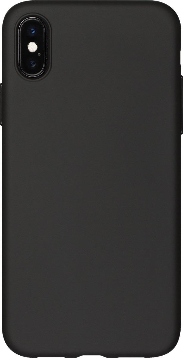 Чехол AnyCase для Apple iPhone X (PET), матовый, черный чехол anycase для apple iphone x transperent