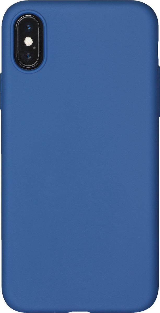Чехол AnyCase для Apple iPhone X (PET), матовый, синий чехол anycase для apple iphone x transperent