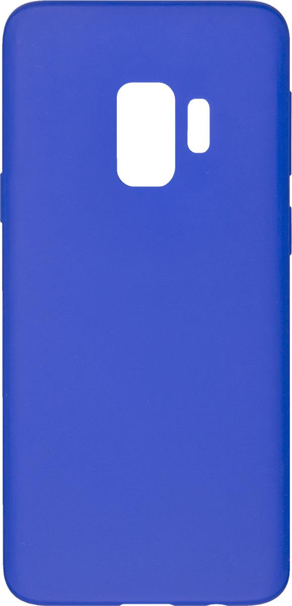 Чехол AnyCase для Samsung Galaxy S9, матовый, синий