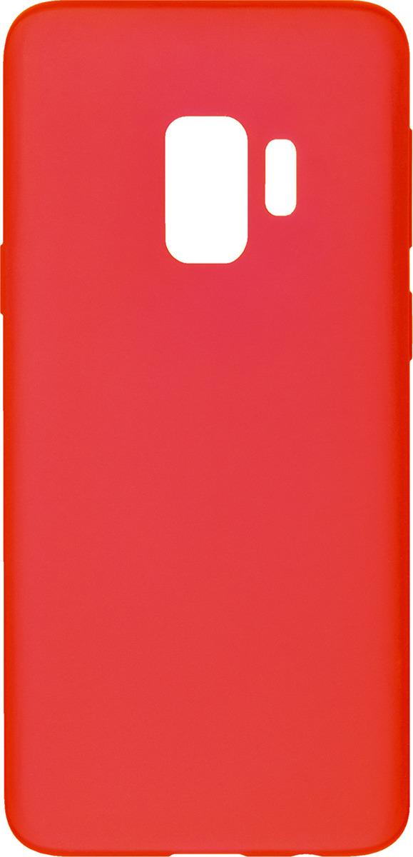 Чехол AnyCase для Samsung Galaxy S9, матовый, красный