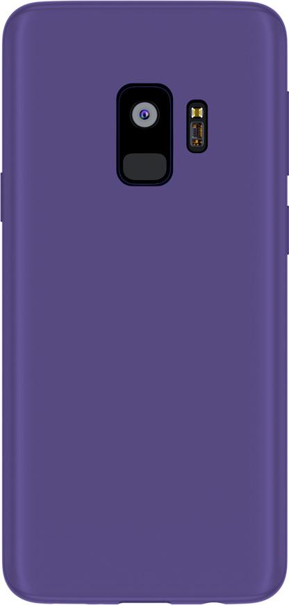 Чехол AnyCase для Samsung Galaxy S9, матовый, фиолетовый