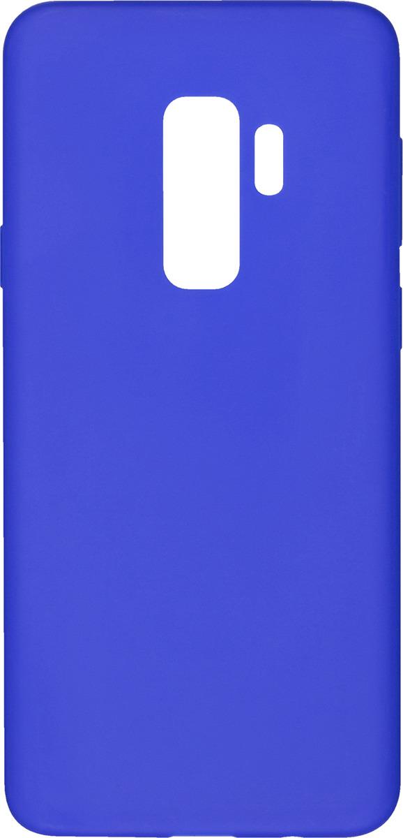 Чехол AnyCase для Samsung Galaxy S9+, матовый, синий