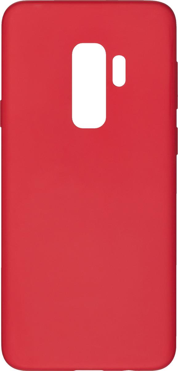 Чехол AnyCase для Samsung Galaxy S9+, матовый, красный