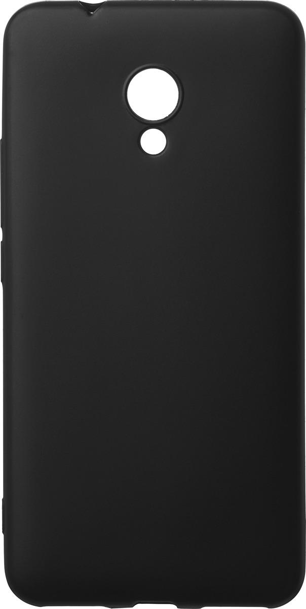 Чехол AnyCase для Meizu M5s, матовый, черный смартфон meizu m5s 16gb gold
