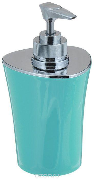 Дозатор для мыла Vanstore Wiki, бирюзовый стакан для ванной комнаты vanstore wiki бирюзовый
