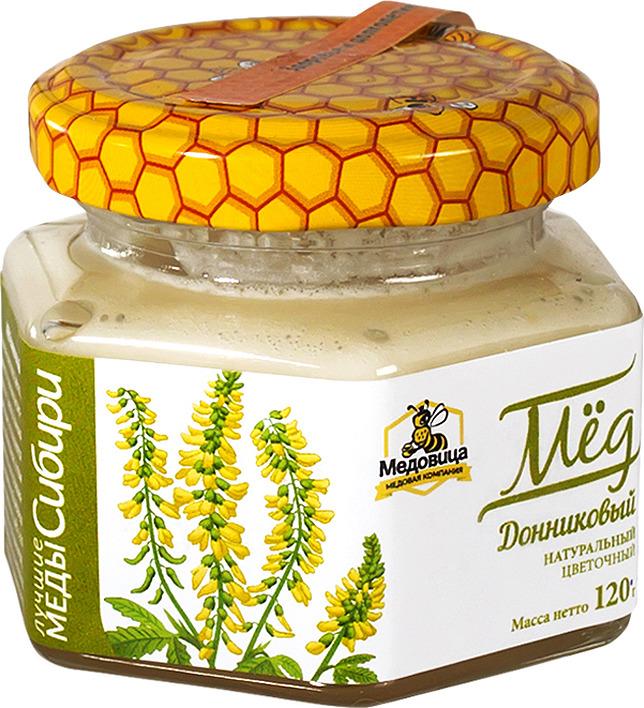 """Мед натуральный Медовица """"Донниковый"""", 120 гр"""