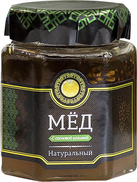Сосновая шишка Медовица, в медовом сиропе, 220 гр